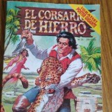 Cómics: EL CORSARIO DE HIERRO, NÚMERO 23. CONTIENE EL PÓSTER.. Lote 260527180