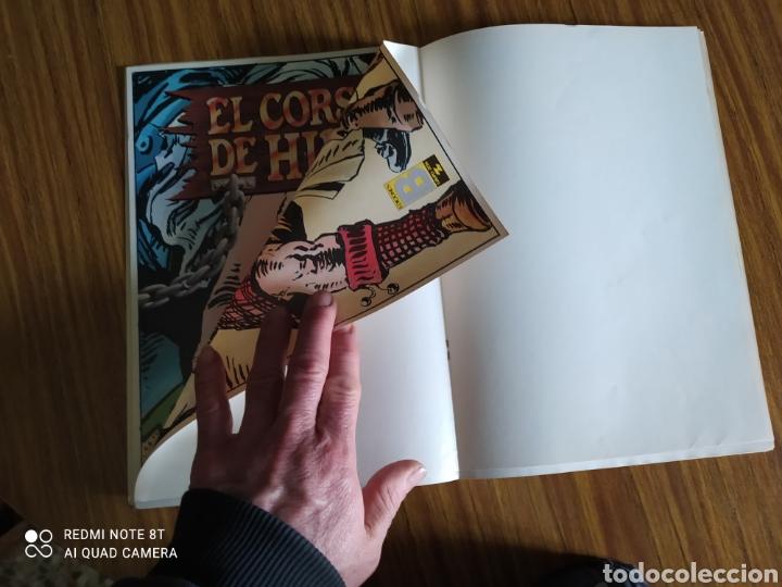 Cómics: El Corsario de Hierro, número 23. Contiene el póster. - Foto 3 - 260527180