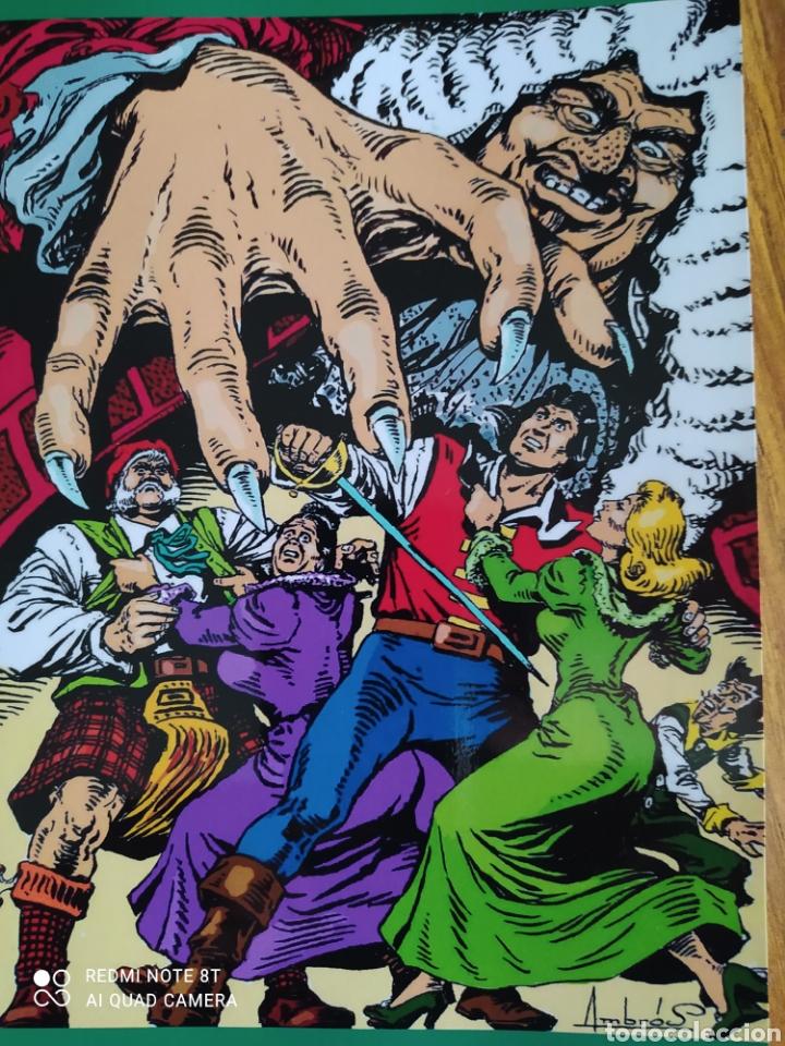 Cómics: El Corsario de Hierro, número 23. Contiene el póster. - Foto 5 - 260527180