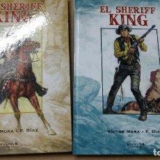Cómics: SHERIFF KING 2 TOMOS COMPLETA EDICIONES B ENCUADERNACIÓN: TAPA DURA O CARTONÉ. Lote 260605920