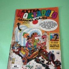 Fumetti: EXTRA MORTADELO GRANDES VIAJES. Lote 260714205