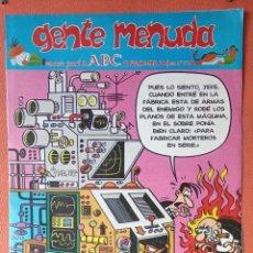 Cómics: GENTE MENUDA. SEMANARIO JUVENIAL DE ABC. DICIEMBRE 1995. N.º318. EDICIONES B, S.A.. Lote 261569320