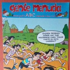 Cómics: GENTE MENUDA. SEMANARIO JUVENIAL DE ABC. DICIEMBRE 1995. N.º316. EDICIONES B, S.A.. Lote 261569350