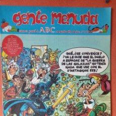Cómics: GENTE MENUDA. SEMANARIO JUVENIAL DE ABC. NOVIEMBRE 1995. N.º315. EDICIONES B, S.A.. Lote 261569465