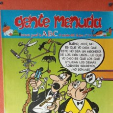 Cómics: GENTE MENUDA. SEMANARIO JUVENIAL DE ABC. NOVIEMBRE 1995. N.º314. EDICIONES B, S.A.. Lote 261569540