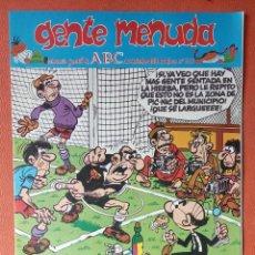 Cómics: GENTE MENUDA. SEMANARIO JUVENIAL DE ABC. NOVIEMBRE 1995. N.º313. EDICIONES B, S.A.. Lote 261569680