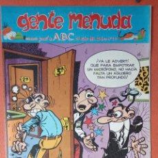 Cómics: GENTE MENUDA. SEMANARIO JUVENIAL DE ABC. OCTUBRE 1995. N.º311. EDICIONES B, S.A.. Lote 261569810