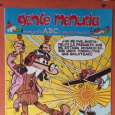 Cómics: GENTE MENUDA. SEMANARIO JUVENIL DE ABC. OCTUBRE 1995. N.º309. EDICIONES B, S.A.. Lote 261570125
