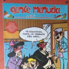 Cómics: GENTE MENUDA. SEMANARIO JUVENIL DE ABC. SEPTIEMBRE 1995. N.º306. EDICIONES B, S.A.. Lote 261570310