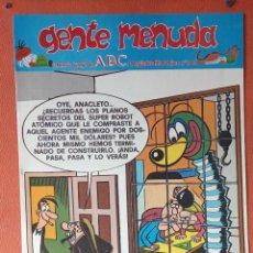 Cómics: GENTE MENUDA. SEMANARIO JUVENIL DE ABC. SEPTIEMBRE 1995. N.º305. EDICIONES B, S.A.. Lote 261570345