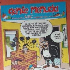 Cómics: GENTE MENUDA. SEMANARIO JUVENIL DE ABC. AGOSTO 1995. N.º301. EDICIONES B, S.A.. Lote 261570655