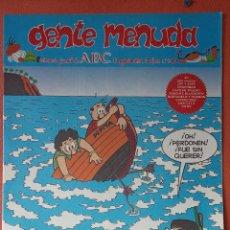 Cómics: GENTE MENUDA. SEMANARIO JUVENIL DE ABC. AGOSTO 1995. N.º300. EDICIONES B, S.A.. Lote 261570715