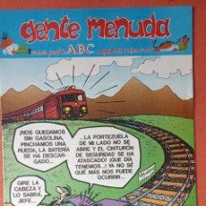 Cómics: GENTE MENUDA. SEMANARIO JUVENIL DE ABC. AGOSTO 1995. N.º299. EDICIONES B, S.A.. Lote 261570795