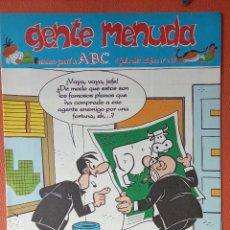 Cómics: GENTE MENUDA. SEMANARIO JUVENIL DE ABC. JULIO 1995. N.º295. EDICIONES B, S.A.. Lote 261570970