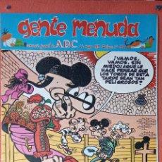 Cómics: GENTE MENUDA. SEMANARIO JUVENIL DE ABC. MAYO 1995. N.º287. EDICIONES B, S.A.. Lote 261672990