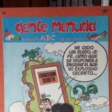 Cómics: GENTE MENUDA. SEMANARIO JUVENIL DE ABC.MAYO 1995. N.º286. EDICIONES B, S.A.. Lote 261673035