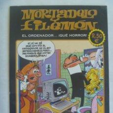 Cómics: MORTADELO Y FILEMON , DE IBAÑEZ : EL ORDENADOR ... ¡ QUE HORROR ! ... 1ª EDICION 2011. Lote 261991145