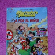 Cómics: MORTADELO Y FILEMÓN GRANDES DEL HUMOR 9 EDICIONES PRIMERA PLANA 1996 EL PERIÓDICO. Lote 262020025