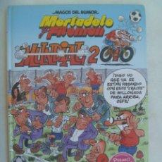Cómics: MAGOS DEL HUMOR . MORTADELO Y FILEMON , DE IBAÑEZ : MUNDIAL 2010 ... 1ª EDICION 2010. Lote 262025220
