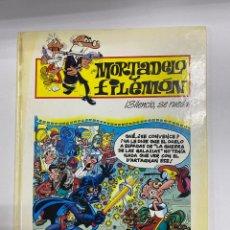 Cómics: MORTADELO Y FILEMON. ¡SILENCIO, SE RUEDA! F. IBAÑEZ. ED. PLURAL. BARCELONA, 2000. 2ª EDICION. Lote 262196600