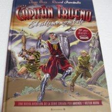 Cómics: EL CAPITAN TRUENO -EL ULTIMO COMBATE-B 2010.BOIX,FERRANDIZ SIN USO-IMPORTANTE LEER DESCRIPCIÓN. Lote 262236400