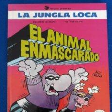 Cómics: EL ANIMAL ENMASCARADO. LA JUNGLA LOCA 1 - GODARD / DELINX. Lote 262291435