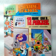 """Cómics: PACK 2 COMICS COLECCIÓN """"EL MEJOR IBÁÑEZ"""" (N.3 Y N. 6). Lote 262411960"""