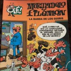 Cómics: MORTADELO Y FILEMÓN. OLE! NÚM 138. LA BANDA DE LOS GUIRIS. Lote 262591680