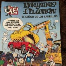 Fumetti: MORTADELO Y FILEMÓN. OLE! NÚM 170. EL SEÑOR DE LOS LADRILLOS. DIFÍCIL DE ENCONTRAR!. Lote 262592580