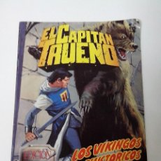 Cómics: COMIC EL CAPITAN TRUENO Nº 25 EDICION HISTORICA LOS VIKINGOS PREHISTORICOS. Lote 262649870