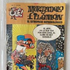 Cómics: MORTADELO Y FILEMÓN - EL ESTROPICIO METEREOLÓGICO OLÉ #17 EDICIONES B 3ª ED.. Lote 262666965