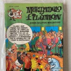 Cómics: MORTADELO Y FILEMÓN - ESOS KILITOS MALDITOS OLÉ #141 EDICIONES B 3ª ED.. Lote 262667380