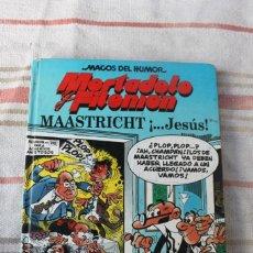 Cómics: MAGOS DEL HUMOR : MORTADELO Y FILEMON Nº 47: MAASTRICHT ... JESUS; EDICIONES B. Lote 262945795