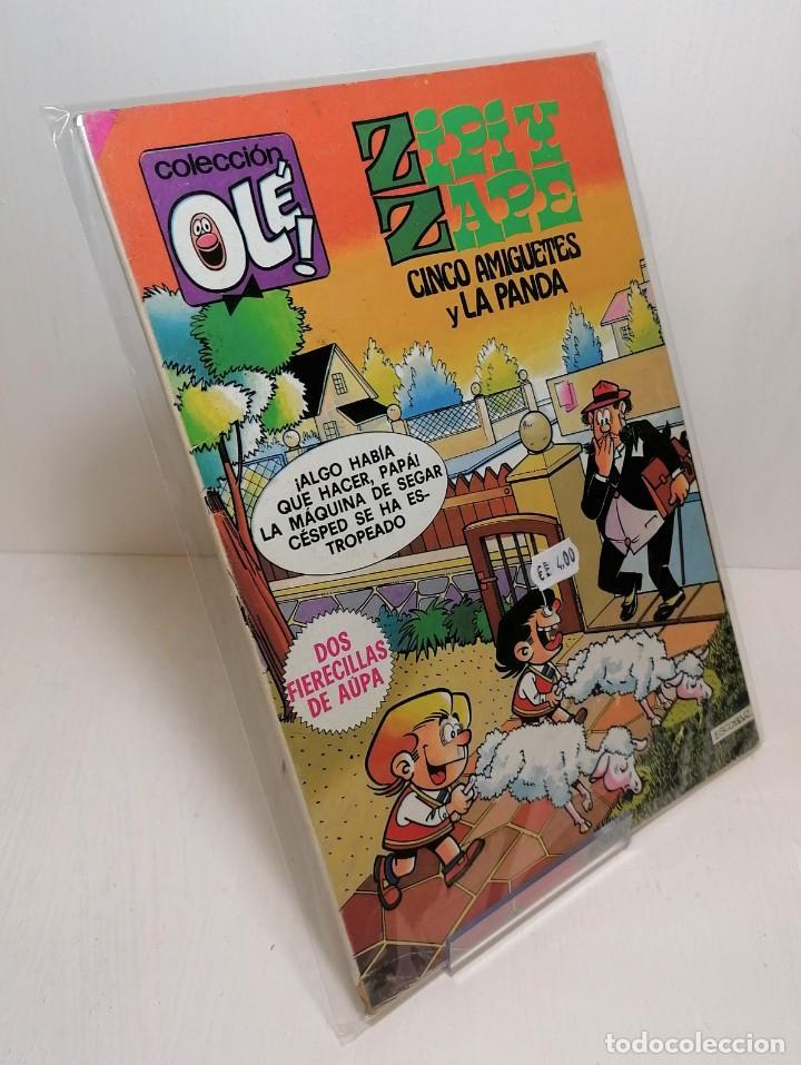 COLECCIÓN OLE: ZIPI Y ZAPE CINCO AMIGUETES Y LA PANDA EDICIONES B (Tebeos y Comics - Ediciones B - Humor)