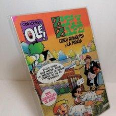 Cómics: COLECCIÓN OLE: ZIPI Y ZAPE CINCO AMIGUETES Y LA PANDA EDICIONES B. Lote 263013275