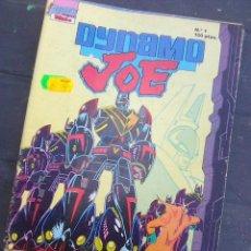 Cómics: DYNAMO JOE - LOTE AVANZADO CON LOS NºS 1 + 2 + 5 + 6 + 7 ((FIRS - EDICIONES B, 1989). Lote 263172425