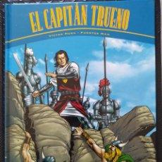 Cómics: EL CAPITÁN TRUENO: LA HORDA DE AKBAR/LAS RUINAS DE TINTAGEL. VÍCTOR MORA Y FUENTES MAN (EDICIONES B). Lote 263187435