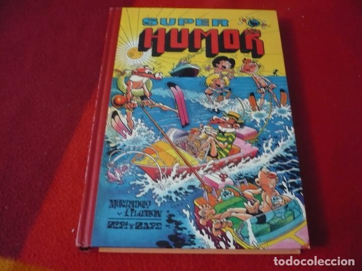 SUPER HUMOR VOLUMEN Nº 49 EDICIONES B 1ª EDICION 1991 MORTADELO Y FILEMON ZIPI Y ZAPE (Tebeos y Comics - Ediciones B - Humor)