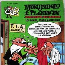 Cómics: MORTADELO Y FILEMON Y ROMPETECHOS- LOS DEMAS TODOS MALTRECHOS - OLE - COMIC. Lote 263254835