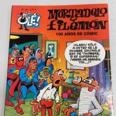 Cómics: MORTADELO Y FILEMÓN. NÚMERO 134. 100 AÑOS DE CÓMIC. EDICIÓN 2003. Lote 263638770