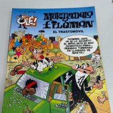 Cómics: MORTADELO Y FILEMÓN. EL TRASTOMOVIL. NÚMERO 136. PRIMERA EDICIÓN. Lote 263639465