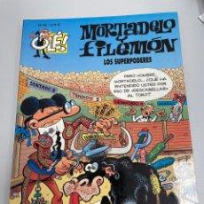 Cómics: MORTADELO Y FILEMÓN. LOS SUPERPODERES. NÚMERO 93. EDICIÓN 2004. Lote 263642205
