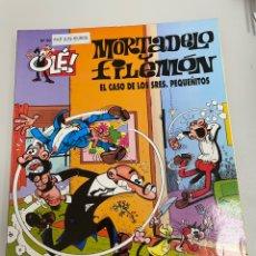 Cómics: MORTADELO Y FILEMÓN. EL CASO DE LOS SEÑORES PEQUEÑITOS. NÚMERO 90. EDICIÓN 2000. Lote 263642515
