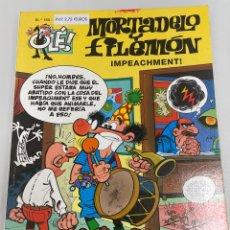 Cómics: MORTADELO Y FILEMÓN. PRIMERA EDICIÓN 1999. NÚMERO 150. IMPEACHMENT. Lote 263644550