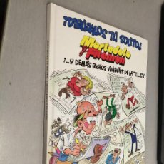 Cómics: MORTADELO Y FILEMÓN: ¡DIBÚJALOS TÚ SOLITO! / F. IBÁÑEZ / EDICIONES B 1ª EDICIÓN 2003. Lote 263673570
