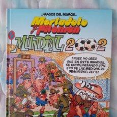 Cómics: MORTADELO Y FILEMÓN -MAGOS DEL HUMOR Nº 89- MUNDIAL 2002 - PRIMERA EDICIÓN - EDICIONES B. Lote 263806490