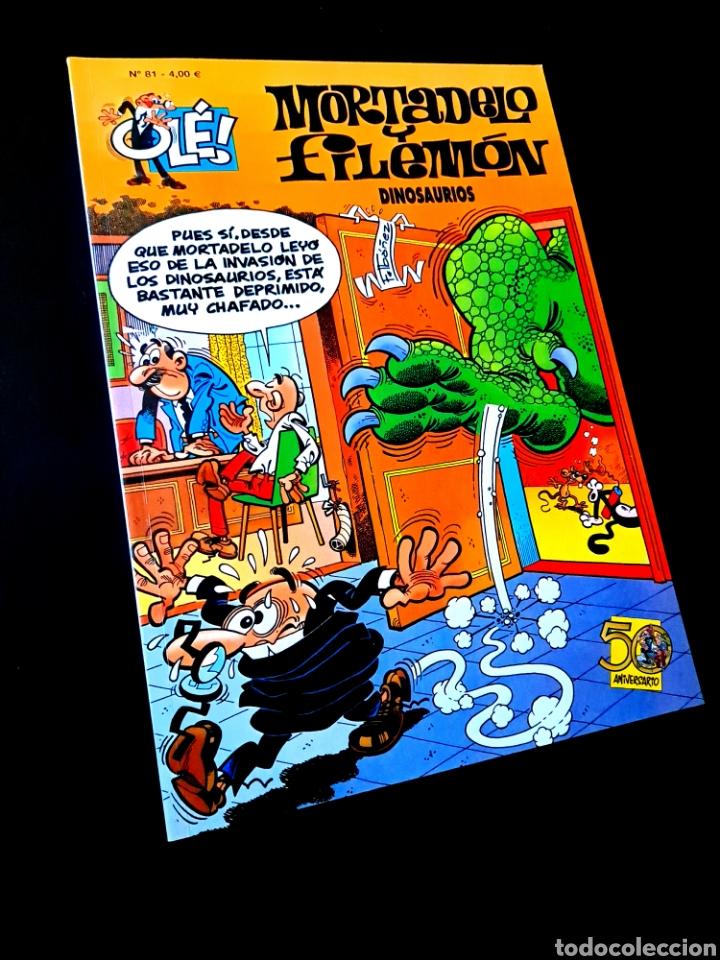 EXCELENTE ESTADO 1° PRIMERA EDICION MORTADELO Y FILEMON 81 EDICIONES B (Tebeos y Comics - Ediciones B - Clásicos Españoles)