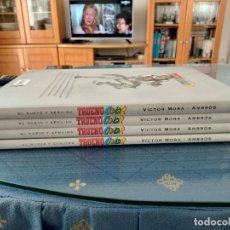 Cómics: Z EL NUEVO Y GENUINO TRUENO COLOR 1 A 4, DE MORA Y AMBROS (EDICIONES B)(24X33,5). Lote 264699034