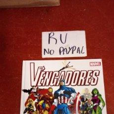 Cómics: MARVEL LOS VENGADORES LA GUÍA DEFINITIVA PRÓLOGO STAN LEE TAPA DURA. Lote 265425284
