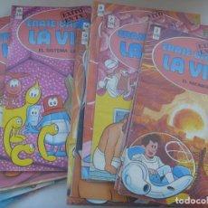Comics: LOTE DE 25 FASCICULOS DE ERASE UNA VEZ ... LA VIDA . EDICIONES B , 1987 .. Lote 265544464